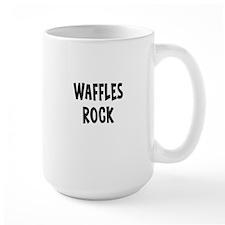 Waffles Rock Mugs