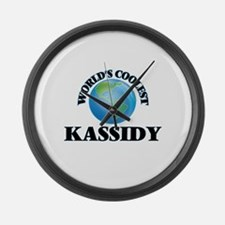World's Coolest Kassidy Large Wall Clock