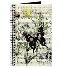 Pansies and music Journal