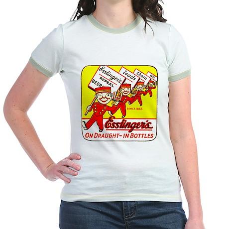Esslinger's Beer-1933 Jr. Ringer T-Shirt