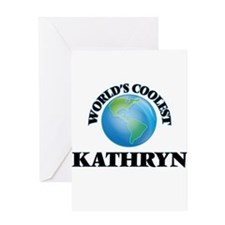 World's Coolest Kathryn Greeting Cards