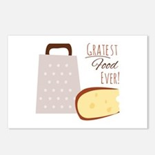 Greatest Ever Food Postcards (Package of 8)