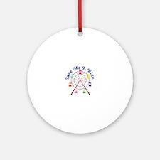 A Ride Ornament (Round)
