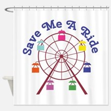 A Ride Shower Curtain