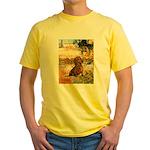 Garden (VG) & Dachshund Yellow T-Shirt