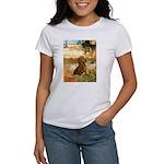 Garden (VG) & Dachshund Women's T-Shirt