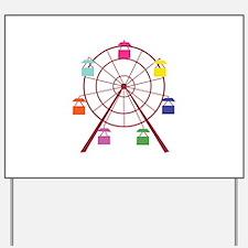Ferris Wheel Yard Sign