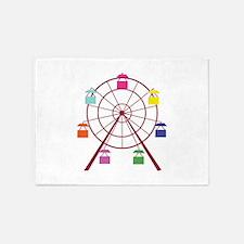 Ferris Wheel 5'x7'Area Rug