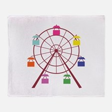 Ferris Wheel Throw Blanket