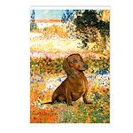 Garden (VG) & Dachshund Postcards (Package of 8)