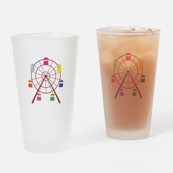 Ferris Wheel Drinking Glass