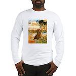 Garden (VG) & Dachshund Long Sleeve T-Shirt