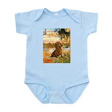 Garden (VG) & Dachshund Infant Bodysuit