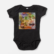 Unique Montage Baby Bodysuit