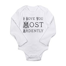 Cute I love to read Long Sleeve Infant Bodysuit