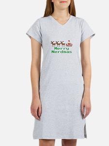 Merry Nerdmas Women's Nightshirt