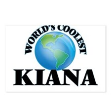 World's Coolest Kiana Postcards (Package of 8)