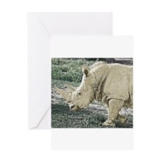 wc-rhino-01.jpg Greeting Cards