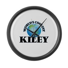World's Coolest Kiley Large Wall Clock