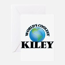World's Coolest Kiley Greeting Cards