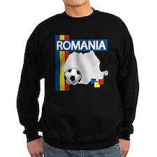 romania-soccer01.png Sweatshirt