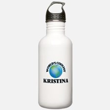 World's Coolest Kristi Sports Water Bottle