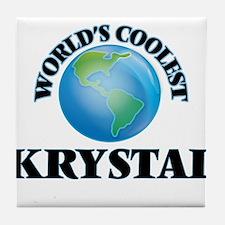 World's Coolest Krystal Tile Coaster