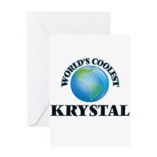 World's Coolest Krystal Greeting Cards