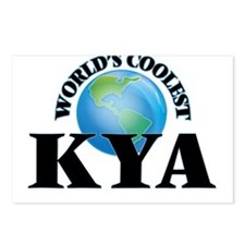 World's Coolest Kya Postcards (Package of 8)