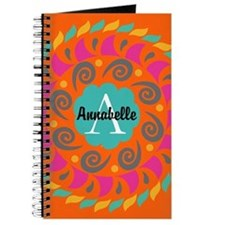 Personalized Monogrammed Journal