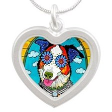 Benny The Border Collie Necklaces