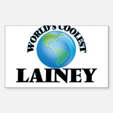 World's Coolest Lainey Decal