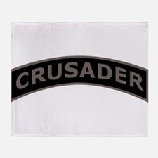 Cute Templar cross Throw Blanket
