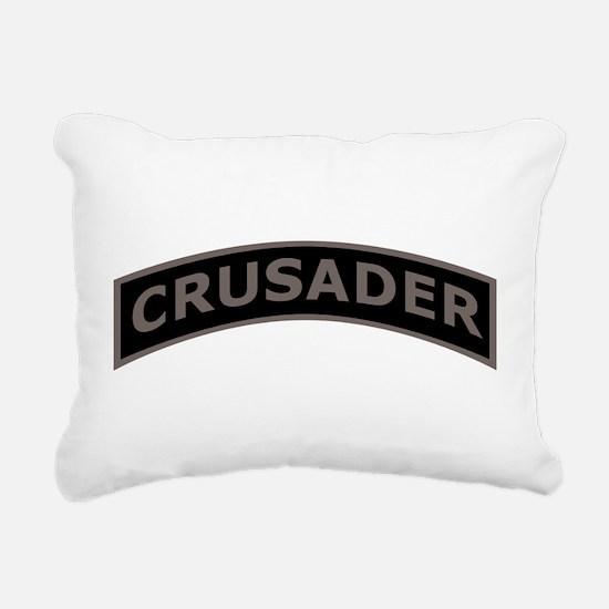 Cute Templar Rectangular Canvas Pillow