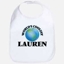 World's Coolest Lauren Bib