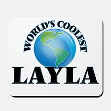 World's Coolest Layla Mousepad