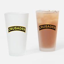 Crusader Shoulder Tab Drinking Glass