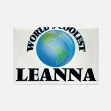 World's Coolest Leanna Magnets