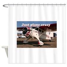 Just plane crazy: Stinson Aircraft Shower Curtain