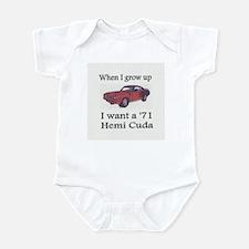 Infant '71 Cuda Bodysuit