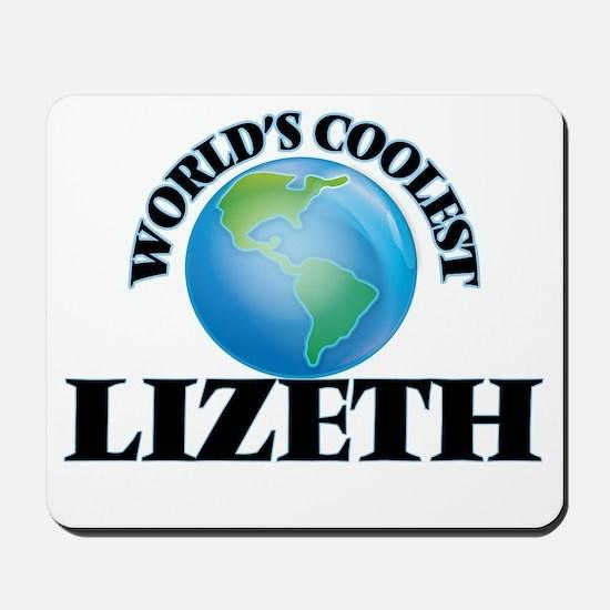 World's Coolest Lizeth Mousepad