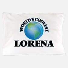 World's Coolest Lorena Pillow Case