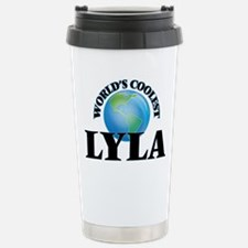 World's Coolest Lyla Stainless Steel Travel Mug