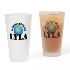 World's Coolest Lyla Drinking Glass