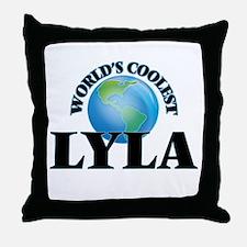World's Coolest Lyla Throw Pillow