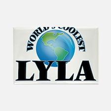 World's Coolest Lyla Magnets