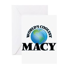 World's Coolest Macy Greeting Cards