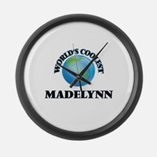 World's Coolest Madelynn Large Wall Clock