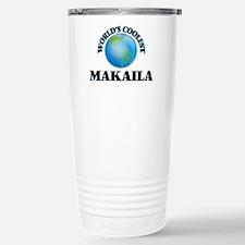 World's Coolest Makaila Stainless Steel Travel Mug
