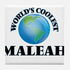 World's Coolest Maleah Tile Coaster